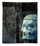 Ghost Skull Fleece Blanket