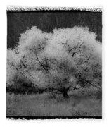 Ghost Tree Fleece Blanket