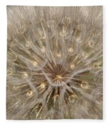 Giant Dandelion Fleece Blanket
