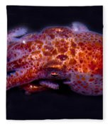 Giant Pacific Octopus Fleece Blanket