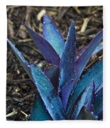 Giant Purple Wandering Jew 2 Fleece Blanket