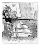 Gibson An Ill Wind, 1897 Fleece Blanket