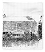 Gibson: Breakfast, 1898 Fleece Blanket