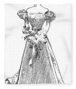 Gibson: Gibson Girl, 1897 Fleece Blanket