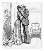 Kiss, 1903 Fleece Blanket