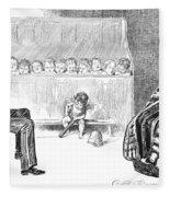 Gibson: Trial By Jury Fleece Blanket