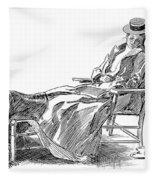 Gibson: Woman, 1898 Fleece Blanket