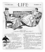 Gibson: Women, 1897 Fleece Blanket