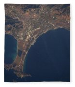Giens Peninsula, France Fleece Blanket