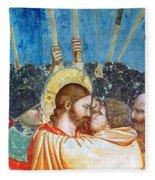 Giotto: Betrayal Of Christ Fleece Blanket