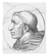 Girolamo Savonarola Fleece Blanket