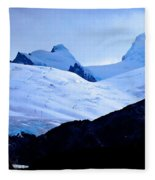 Glacier Cracks Fleece Blanket