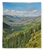 Glacier National Park 9275 Fleece Blanket