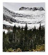 Glacier Park Bowlrock Fleece Blanket