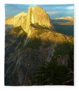 Glacier Point Tree Fleece Blanket