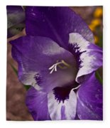 Gladiola Blossom 5 Fleece Blanket