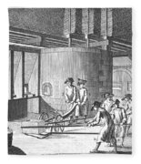 Glass Manufacture, 1751 Fleece Blanket