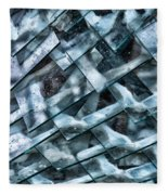 Glass Scales Fleece Blanket