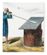 Glassblower, 18th Century Fleece Blanket