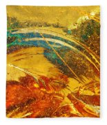 Glassworks Series-multicolor I Fleece Blanket