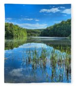 Glassy Waters Fleece Blanket