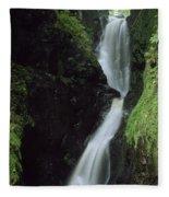Glenariff Falls, Glens Of Antrim, Co Fleece Blanket