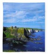 Glenarriff Falls, The Antim Glens, Co Fleece Blanket