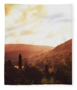 Glendalough, County Wicklow, Ireland Fleece Blanket