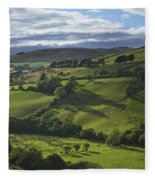 Glenelly Valley, County Tyrone Fleece Blanket