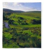 Glenelly Valley, Sperrin Mountains, Co Fleece Blanket