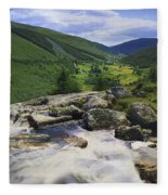 Glenmacnass, County Wicklow, Ireland Fleece Blanket