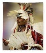 Pow Wow Glory Days Fleece Blanket
