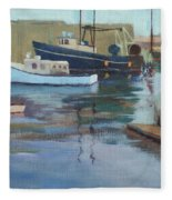 Gloucester Harbor Fleece Blanket