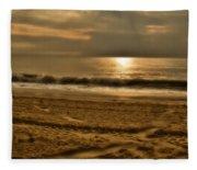 Glowin' Ocean Fleece Blanket