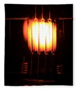 Glowing Filament 3 Of 3 Fleece Blanket