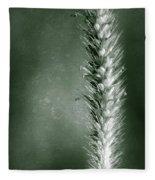 Glowing Grass Seedhead Fleece Blanket