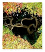 Gnarly Autumn Beauty Fleece Blanket