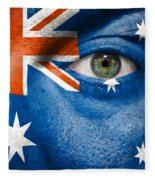 Go Australia Fleece Blanket