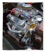 1938 Ford Roadster Go Power Fleece Blanket
