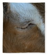 Goat Dreams Fleece Blanket
