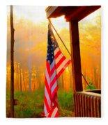 God Country Home Fleece Blanket