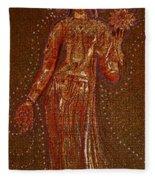 Goddess 1 Fleece Blanket
