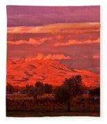 God's Light Fleece Blanket