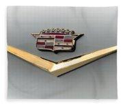 Gold Badge Cadillac Fleece Blanket