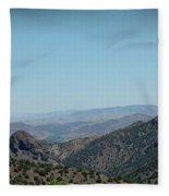 Gold In The Hills Virginia City Nv Fleece Blanket