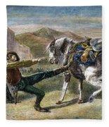 Gold Prospectors, C1876 Fleece Blanket