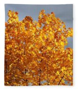 Golden Days Fleece Blanket