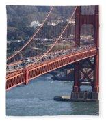 Golden Gate Traffic Fleece Blanket