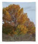 Golden Tree II Fleece Blanket