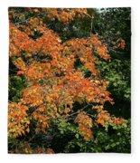 Golden Tree Moment Fleece Blanket